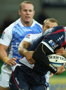Gareth Delve Rebels v W Force SR 2012