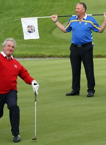 Gareth Edwards at golf day