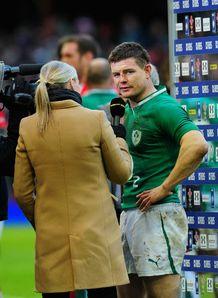 Brian ODriscoll Wales v Ireland