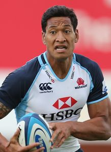 Israel Folau Waratahs full back 2013