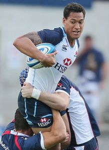 Israel Folau Waratahs v Rebels 2013 SR friendly