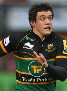 Jamie Elliott Northampton Saints