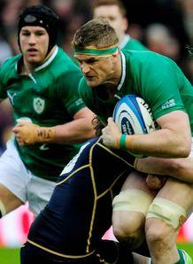 Scotland v Ireland: Jamie Heaslip