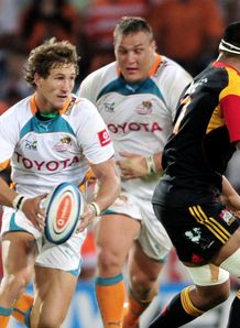 Johan Goosen Cheetahs v Chiefs SR 2012