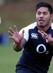 Manu Tuilagi England training 2013
