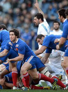 Italy v France: Maxime Machenaud