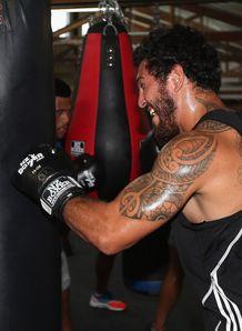Rene Ranger boxing