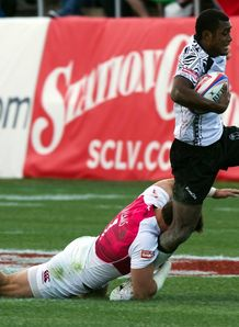 Samisoni Virivir Fiji v England Las Vegas Sevens 2013