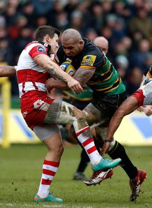 Samu Manoa Northampton v Gloucester 2013
