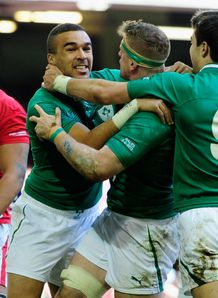 Simon Zebo Ireland