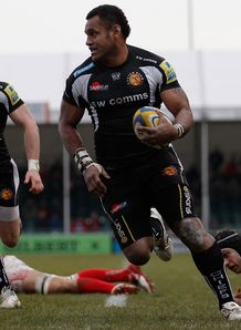 Sireli Naqelevuki Exeter Chiefs v London Welsh
