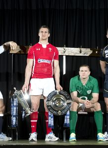 Six Nations captains posing