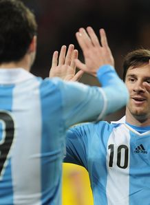 Argentina beat Sweden 3-2 in a friendly at Nya Ullevi Stadion