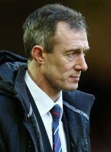 Rob Howley Wales v Ireland