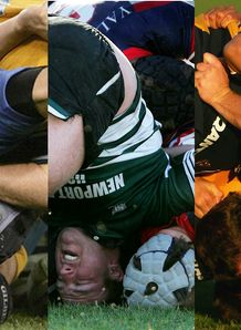 collapsed scrums collage