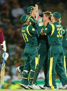 Australia paceman James Faulkner fined after clashing with Chris Gayle