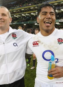 Stuart Lancaster Manu Tuilagi