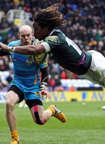 Marland Yarde london irish v wasps