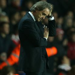 Mancini: Under pressure