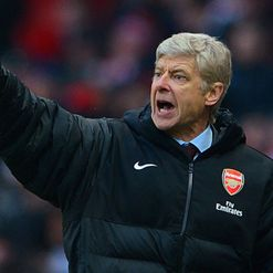 Wenger: Pushing for second spot