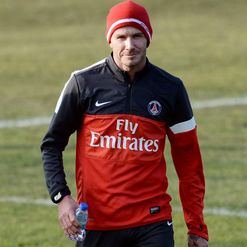 Beckham: Ready for action