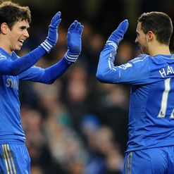 Hazard (R): Fired home Chelsea's second