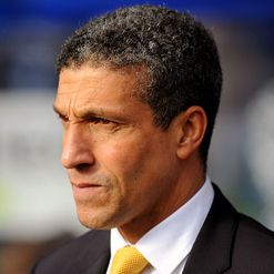 Hughton: Hoping to improve home form
