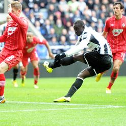 Cisse: Flattered by comparisons