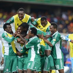 Emenike: Netted the first goal
