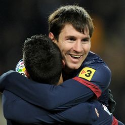 Messi: Netted the winning goal