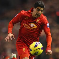 Luis Suarez: Happy at Liverpool