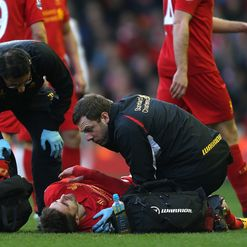 Borini: Dislocated shoulder