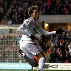 Michu: Bagged a brace