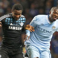 Mikel & Toure: Set to renew hostilities