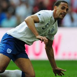 Ferdinand: Happy to roar with Three Lions