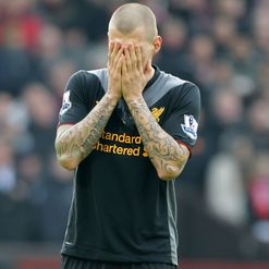 Skrtel: Unhappy at Anfield