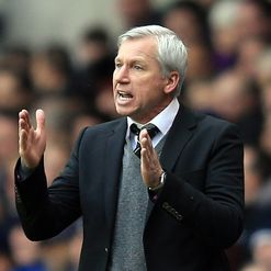 Pardew: Happy with squad depth