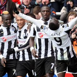 Papiss Cisse: Netted Newcastle's second goal