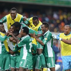 Super Eagles: Celebrations all round