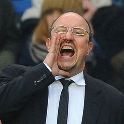 Benitez: Backed after outburst