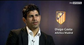 Costa content at Atletico