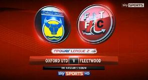 Oxford 1-2 Fleetwood