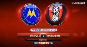 Torquay 1-3 Rotherham