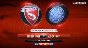 Morecambe 2-1 Aldershot