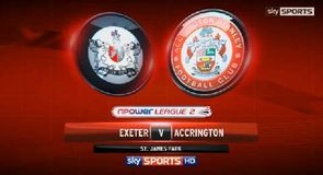 Exeter 2-0 Accrington