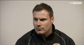 Flitcroft involved in heated exchange