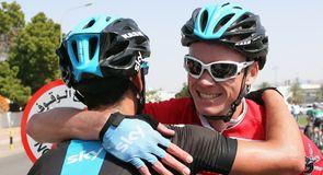 Chris Froome put an emphatic stamp on his race lead with a stage five victory