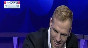 James Haskell: The England star takes part in the latest Cash Game
