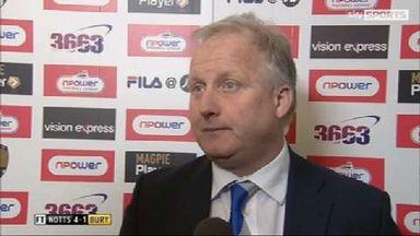 Blackwell bemoans Bury defence