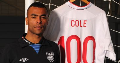Cole Handed Three Lions Honour